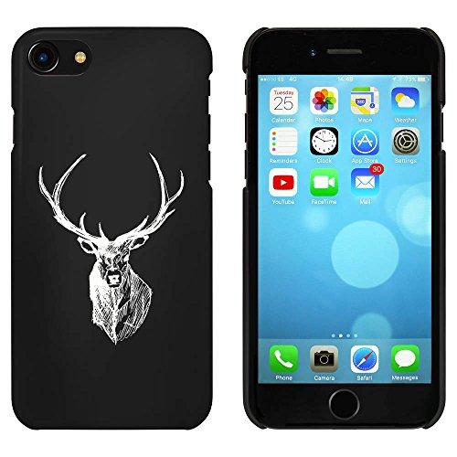 Noir 'Tête de Cerf' étui / housse pour iPhone 7 (MC00069173)