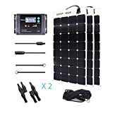 Renogy 300 Watt 12 Volt Solar Marine Kit with Sunpower Flexible Solar Panel and Waterproof Charge Controller