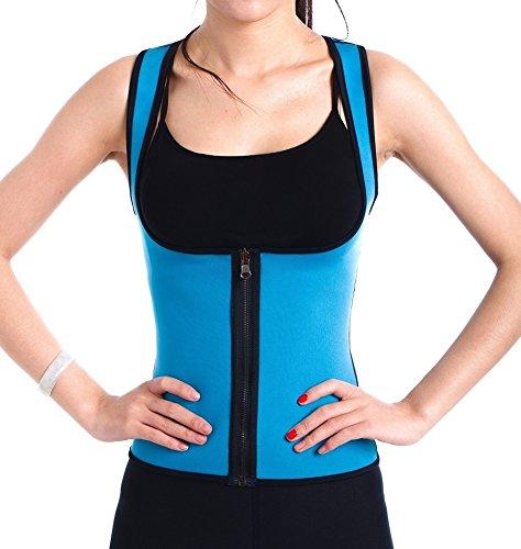 ValentinA Slimming Neoprene Vest Hot Sweat Shirt Body Shapers Weight Loss Womens