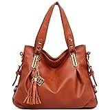 Donalworld Women Retro PU Leather Handbag