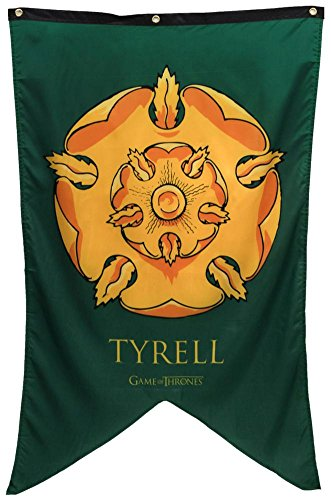 """Calhoun Game of Thrones House Sigil Wall Banner (30"""" by 50"""") (House Tyrell)"""