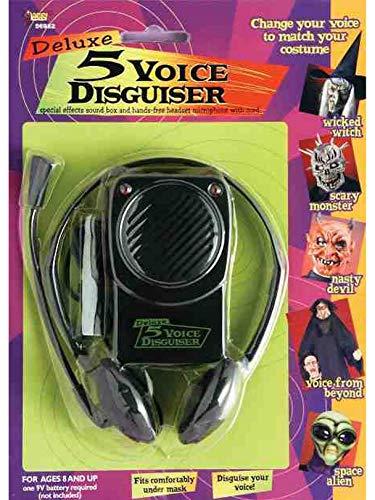 Forum Novelties Voice Disguiser with Head Set, 10 Different Voices]()