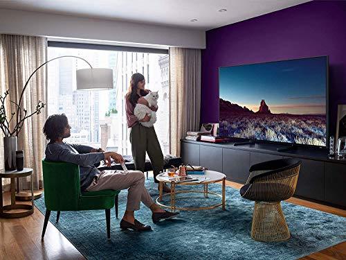 Samsung QN55Q900RBFXZA Flat 55-Inch QLED 8K Q900 Series Ultra HD Smart TV with HDR and Alexa Compatibility