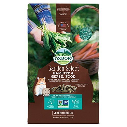 Oxbow Hamster and Gerbil - 1.5 pound bag - Garden