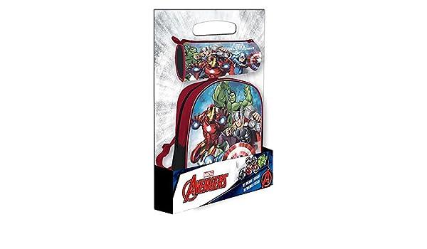Disney - Mochila Avengers + Estuche Offerte, ast4372: Amazon.es: Juguetes y juegos