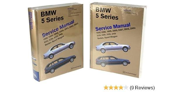 amazon com bentley paper repair manual bmw 5 series e39 automotive rh amazon com 1997 BMW 540I Clank Noise BMW E39 540I