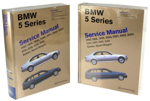 Bentley Paper Repair Manual BMW 5 Series (E39) ()