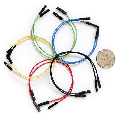 Jumper Wires Premium 6″ F/F Pack of 10, Best Gadgets