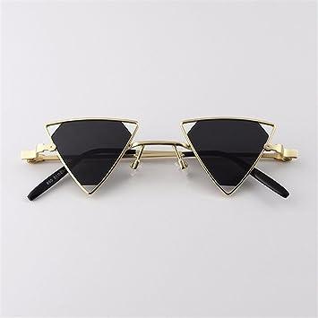 TYJshop Gafas De Sol Triangulares De La Personalidad del ...