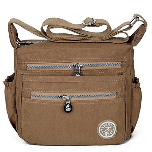 Lady's Multi functional plug Bag Bags Crossbody flat anti book wallet design pocket Messenger Shoulder can Handbag bag splash water Coffee etc Casual AwAPr7