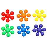 Sealive 200 Pieces Kids Chidrlen Multicolor Plum Blossom Creative Building Blocks For Child DIY Educational Toys For Jouet Enfant,2 Big Packs Birthday Gifts For 2-15 Years Toddlers