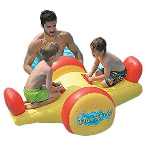 Pool Float - Kids Inflatable Seesaw Swimming Pool Water Toy (57x40.5x26) by Jilong