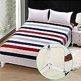 Triangle Bed Sheet Fastener Adjustable Holder