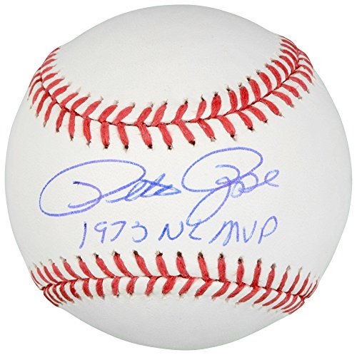 (Pete Rose Cincinnati Reds Autographed Baseball with 73 NL MVP Inscription - Memories - Mounted Memories Certified)