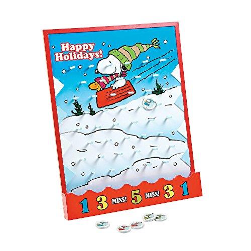 Peanut Drops (Peanuts? Christmas Disc Drop Game)