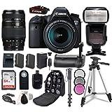 Canon EOS 6D Digital SLR Camera Bundle withEF 24-105mm f/3.5-5.6 IS STM Lens + Tamron Zoom AF 70-300mm f/4-5.6 Lens + Professional Accessory Bundle (14 items)