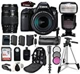 Cheap Canon EOS 6D Digital SLR Camera Bundle withEF 24-105mm f/3.5-5.6 IS STM Lens + Tamron Zoom AF 70-300mm f/4-5.6 Lens + Professional Accessory Bundle (14 items)