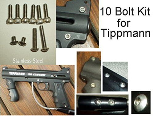 Tippmann Accessories 98 Model (UPGRADE Tippman Model 98 Custom- Stainless Steel Bolt Kit Tippmann Paintball)