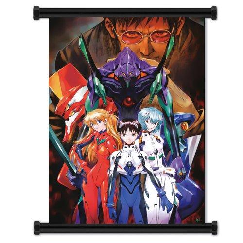 Neon Genesis Evangelion Anime Fabric Wall Scroll Poster  Inc
