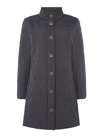 95515d2a2b TIGI Contrast Quilted Coat