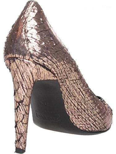 FRATELLI ROSSETTI PYTHON 62154_31723 Pumps Heels Shoes Size 5 UK EU 38 Copper Leather Bronze Leather Mk1iX