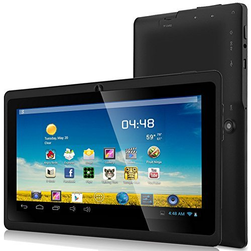 ZeepadA 7DRK Dual Core 4.2 Black Android Tablet 7 Inch, Multi-Touch, Dual Camera Wi-Fi (7DRK)