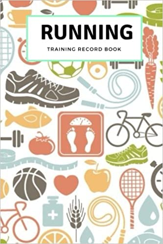 running training record book daily log book track weight