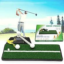 HITSAN Shot Swing Putter Golf Speed Trainers Simulator Training Aids 360 Degree Rotation One Piece