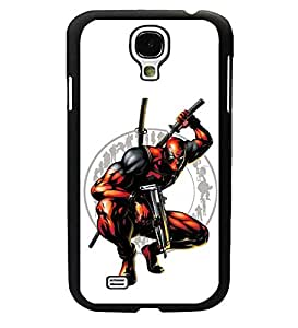 CooJedy Marvel Comics Hard Funda Case Cover for Samsung Galaxy S4 i9500 - Deadpool