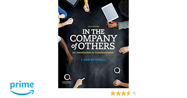 In the company of others an introduction to communication in the company of others an introduction to communication 9780190457426 communication books amazon fandeluxe Choice Image