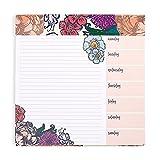 Erin Condren Floral Ink Schedule Pad (ACC SCHPD)