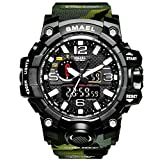 Men Sports Watch Multi function Military Watch Date Quartz Stopwatch Masculino Analog Army LED Watches