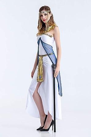 Yao Disfraz de Halloween Diosa griega Reina egipcia Chica árabe ...