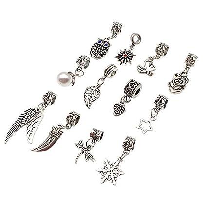 896ea8ab93bf2 Amazon.com: Baba 12 Pieces No Repeat Chic Style Braiding DIY ...