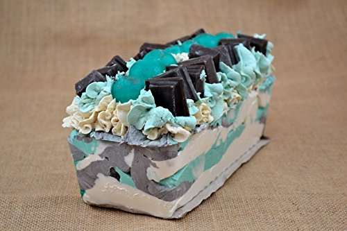 Chocolate Mint Soap Made with Natural Butters and Oils