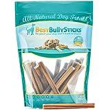 Best Bully Sticks 6-inch Odor-Free Angus Bully Sticks, Free Range, Grass-Fed Angus Beef, Superior Rawhide Alternative, 20 Pack