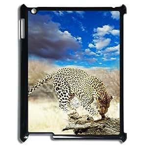 Ipad2,3,4 The plum flower leopard Phone Back Case DIY Art Print Design Hard Shell Protection YT096962 by icecream design