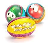 Veggie Tales HD Foam Balls - Package of 3