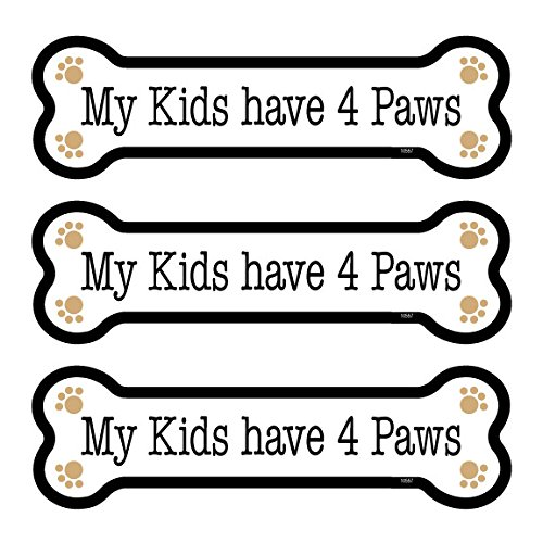 Have Four ((SJT25557) My Kids have 4 Paws 3-PACK of 2