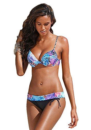 Bruno Banani Mujer Push Up Bügel Bikini negro