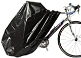Zerust Rust Preventive Bicycle Storage Bag with Zip Closure, Black