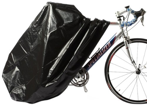 Zerust Rust Preventive Bicycle Storage Bag with Zip Closure, Black from Zerust