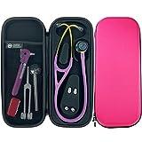 Pod Technical Cardiopod Hard Stethoscope Case - Hot Pink for Littmann Cardiology scopes