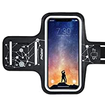 Armband for iPhone X/XR/XS, Mpow Phone Arm Band with Key Slot, Water Resistant Gym Armband Running with Samsung S7/S8/S9, Starry
