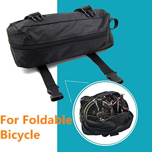 StillCool Folding Bike Bag 14 inch to 20 inch Bicycle Travel Carrier Bag Pouch,Bike Transport Case for Transport,Air Travel,Shipping (14-inch to 20-inch) by StillCool (Image #1)