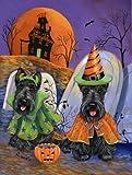Scottish Terrier Haunted House-GF