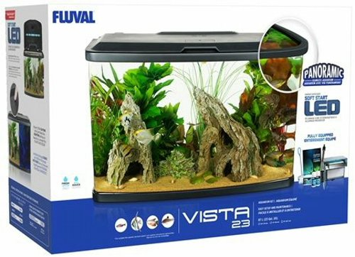 Fluval Vista Aquarium Kit 23 Gallon by Fluval