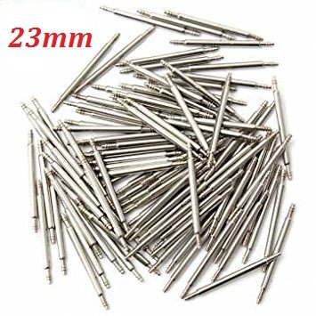 Bar 23mm (Stainless Steel Watch Spring Bar Pins (23mm (100pcs)))