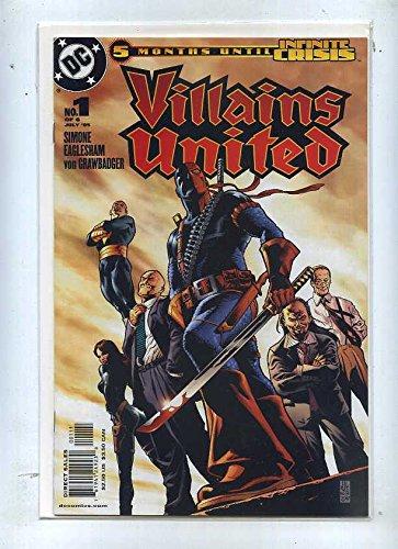 (Villains United 1-6 2007 DC Comics Deathstroke CBX2B)