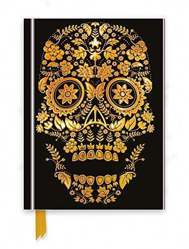 Gold Sugar Skull (Foiled Journal) (Flame Tree Notebooks)